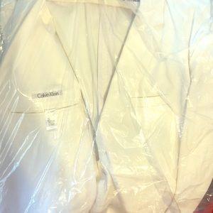 Calvin Klein All-White Blazer Sz. 2XL